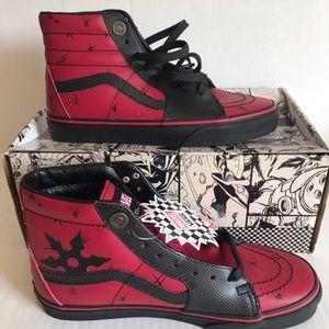 Deadpool Vans hitops